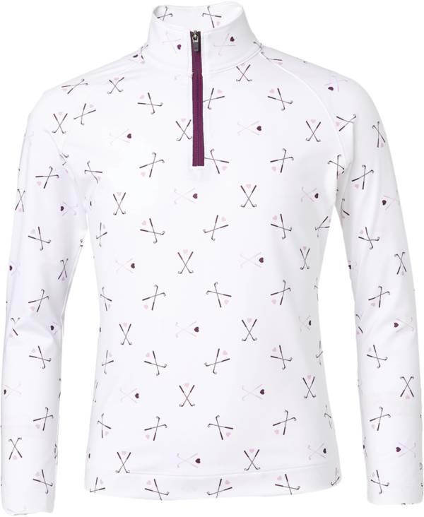DSG Girls' UV ¼ Zip Printed Golf Jacket product image