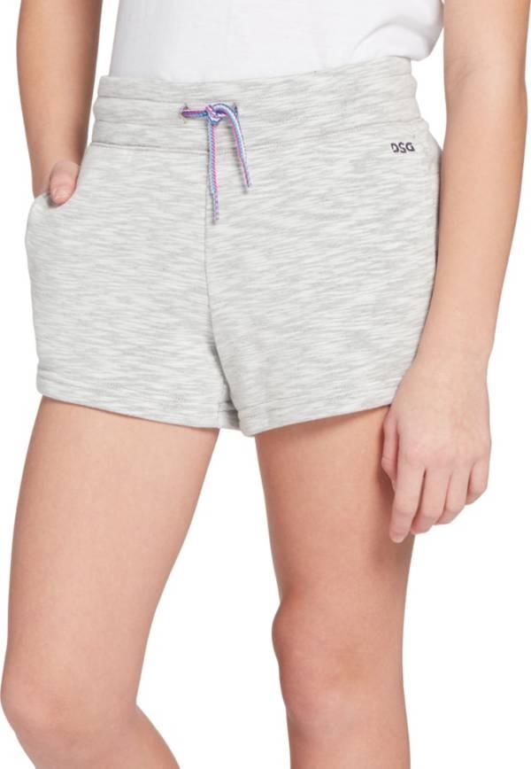 DSG Girls' Slub Cotton Fleece Shorts product image
