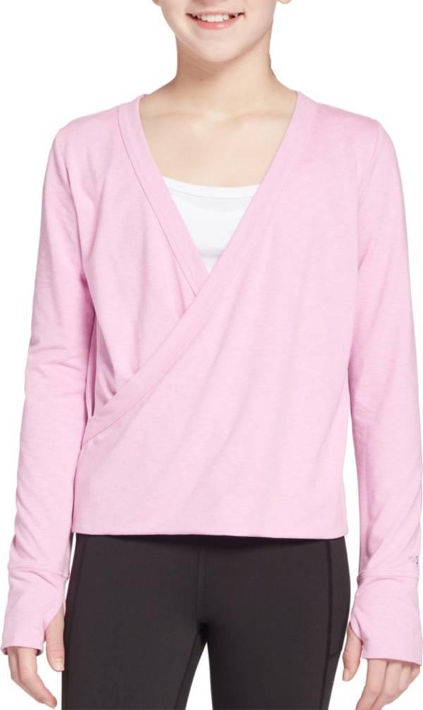 DSG Girls' Studio Wrap Long Sleeve Shirt product image