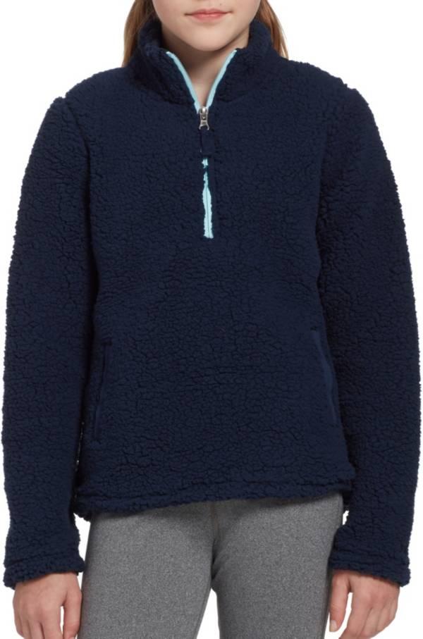 DSG Girls' Everyday Sherpa 1/2 Zip Sweatshirt product image