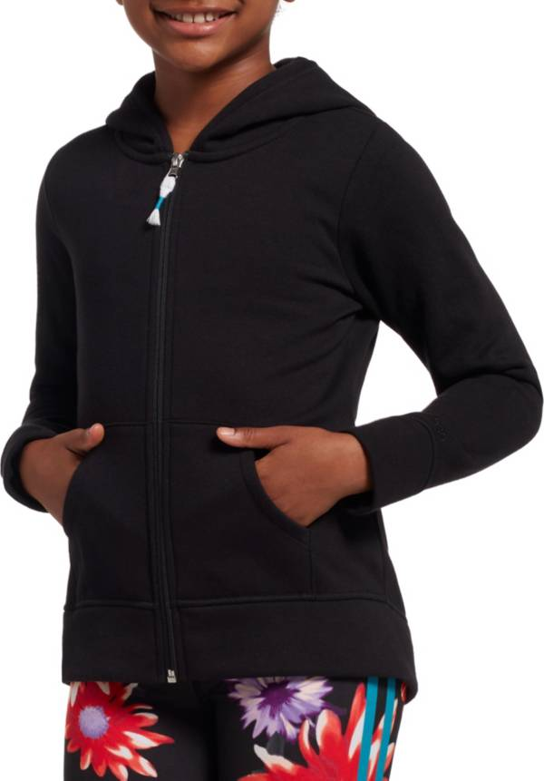 DSG Girls' Everyday Cotton Fleece Full Zip Hoodie product image