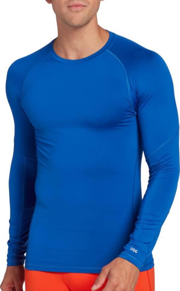 DSG Men's Compression Crew Long Sleeve Shirt product image