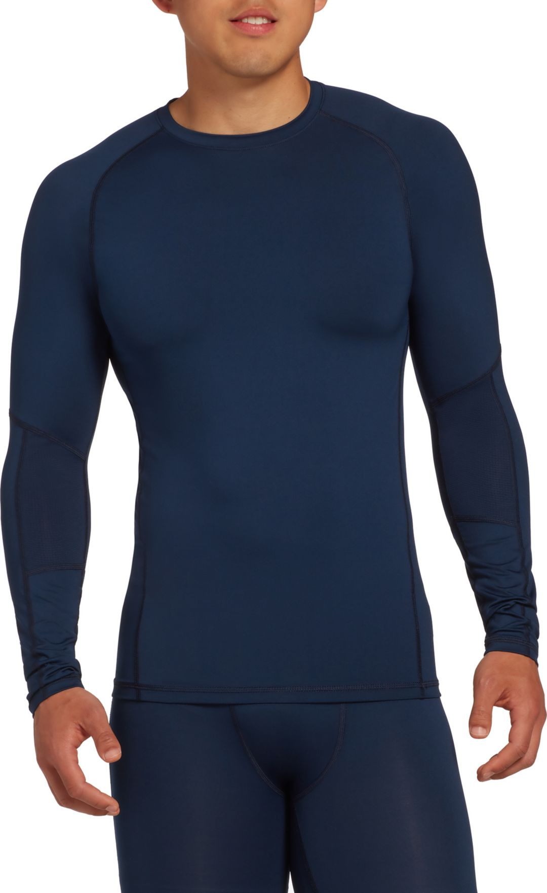 super popular the cheapest moderate price DSG Men's Compression Crew Long Sleeve Shirt