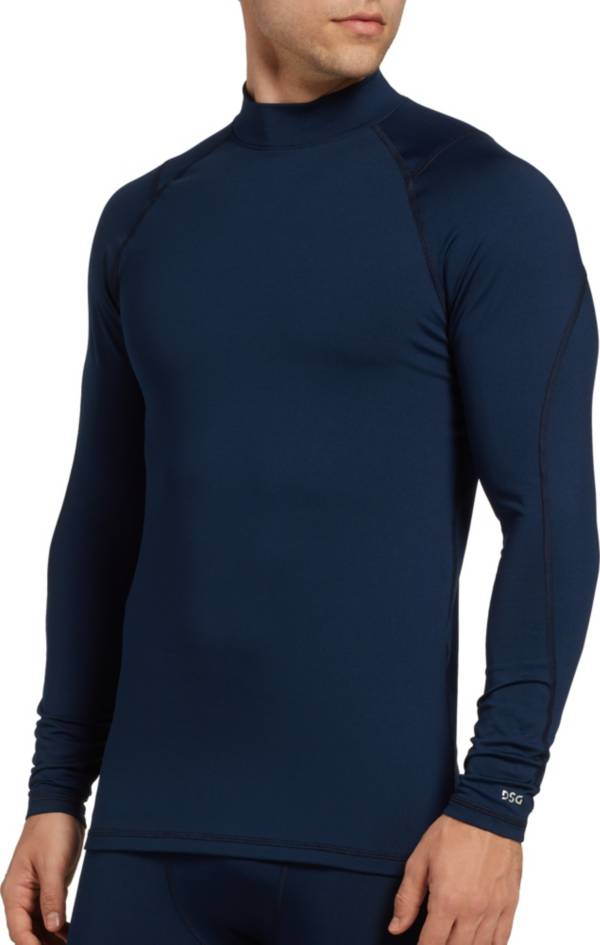DSG Men's Cold Weather Compression Mock Neck Long Sleeve Shirt (Regular and Big & Tall) product image