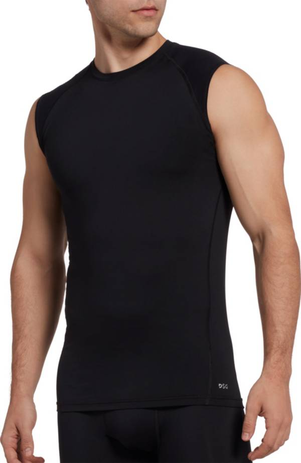 DSG Men's Compression Crew Tank Top (Regular and Big & Tall) product image