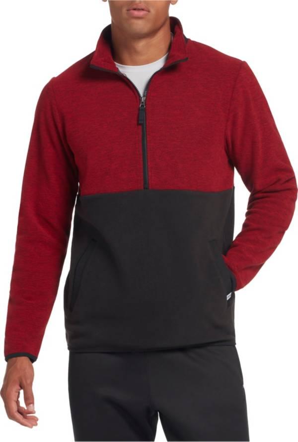 DSG Men's Everyday Heather Polar Fleece 1/2 Zip Pullover product image