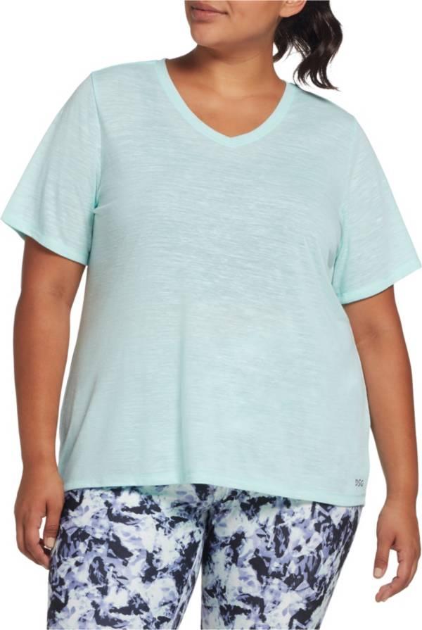 DSG Women's Plus Size Core Cotton Jersey V-Neck T-Shirt product image