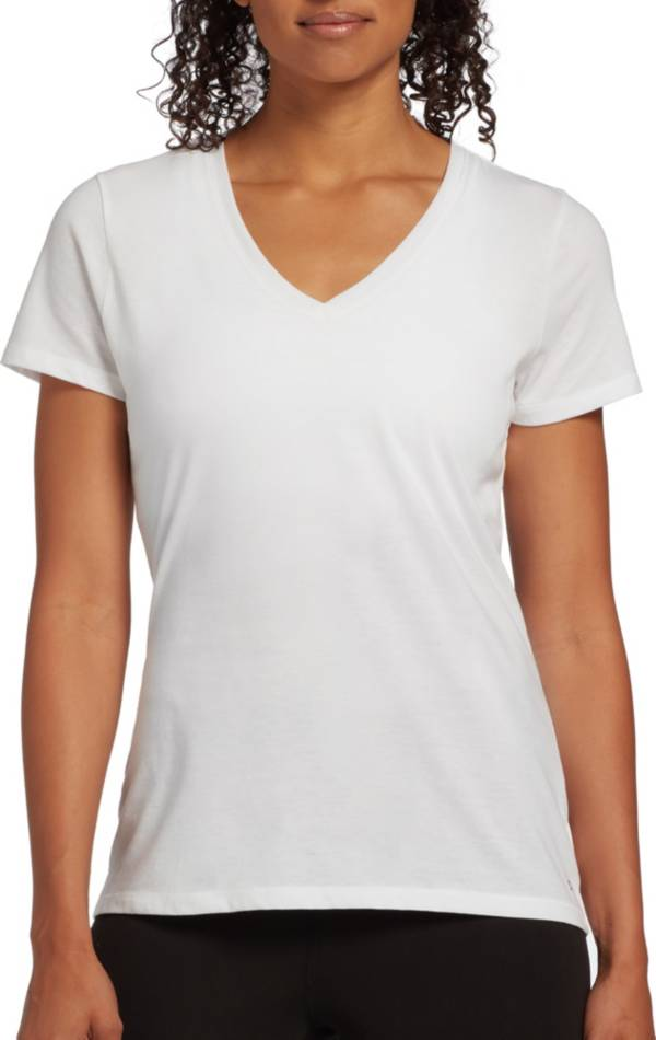 DSG Women's Core Cotton Jersey V-Neck T-Shirt product image