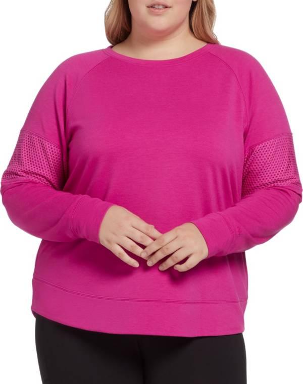 DSG Women's Plus Size Fleece Crew Sweatshirt product image