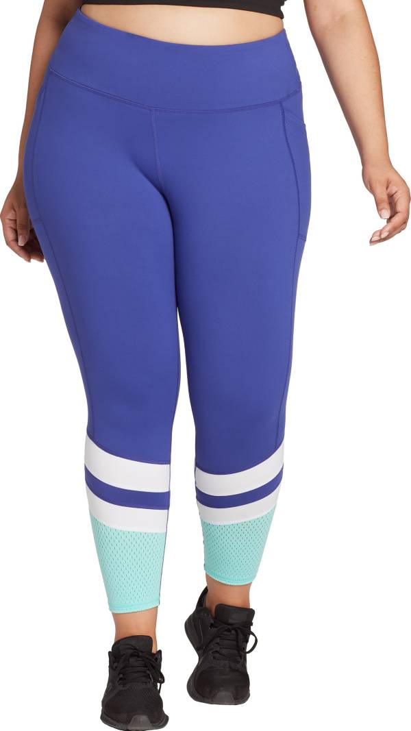 DSG Women's Plus Size Performance Pieced Perforation 7/8 Tights product image