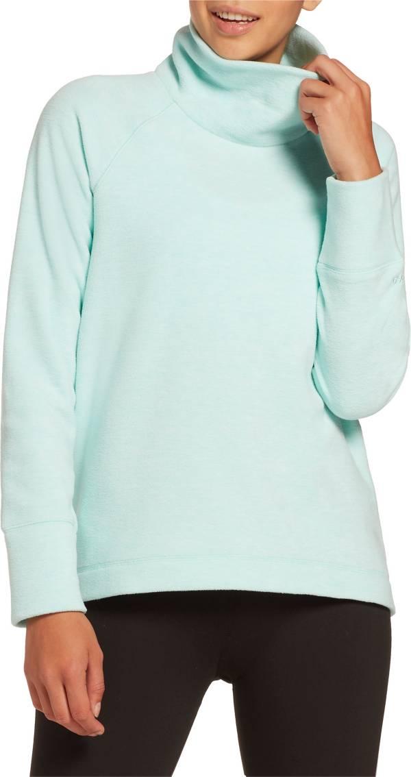 DSG Women's Polar Fleece Funnel Neck Heather Sweatshirt product image
