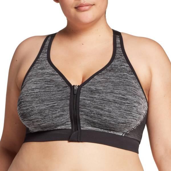 DSG Women's Plus Size Seamless Zip Front Sports Bra product image