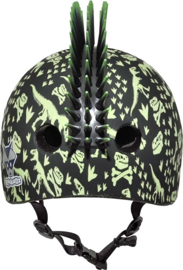 Raskullz Toddler T-Rex Bones Mohawk Bike Helmet product image