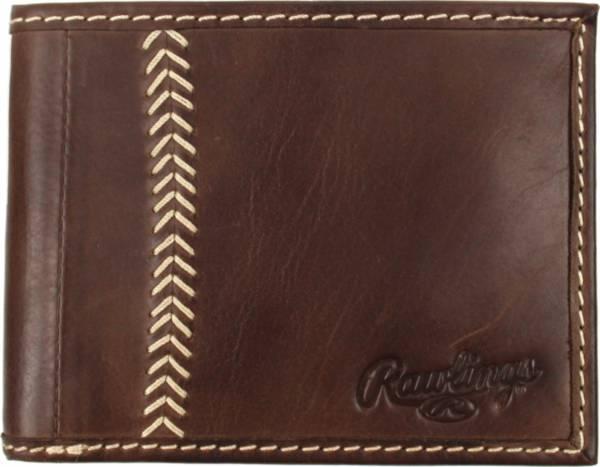 Rawlings Baseball Stitch Leather Bi-Fold Wallet product image