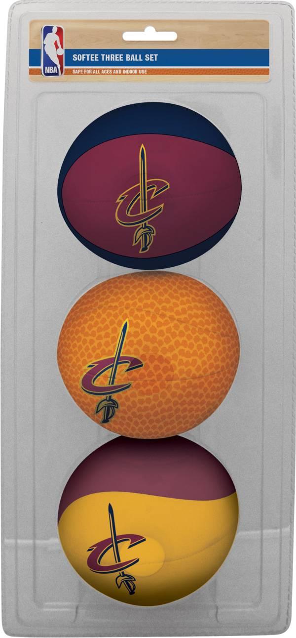 Rawlings Cleveland Cavaliers Softee Basketball Three-Ball Set product image