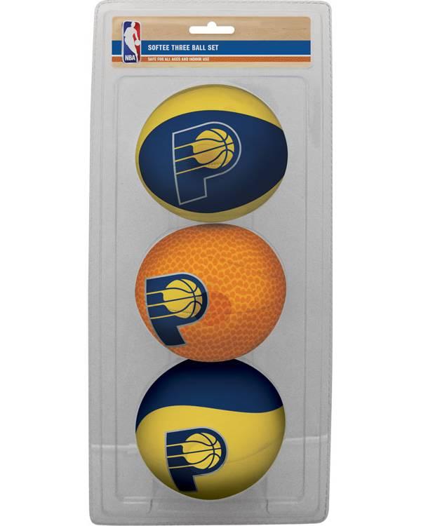 Rawlings Indiana Pacers Softee Basketball Three-Ball Set product image