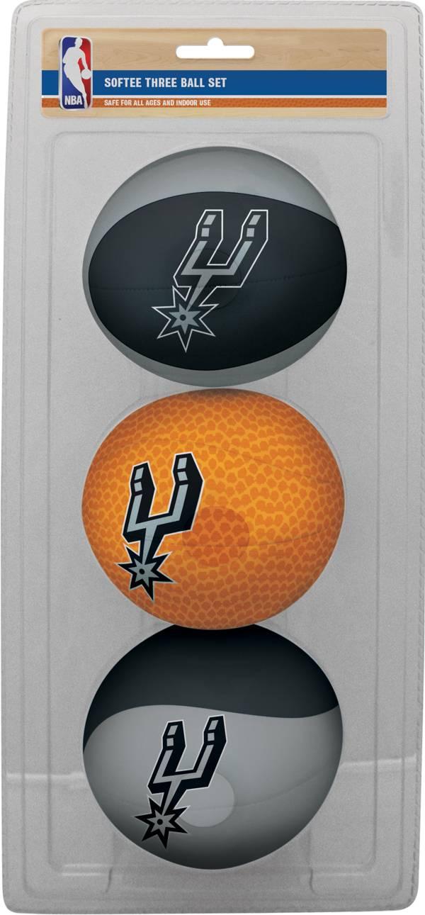Rawlings San Antonio Spurs Softee Basketball Three-Ball Set product image