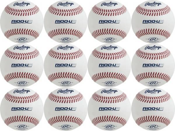 Rawlings R100-UP1 High School Ultimate Batting Practice Baseballs - 12 Pack product image