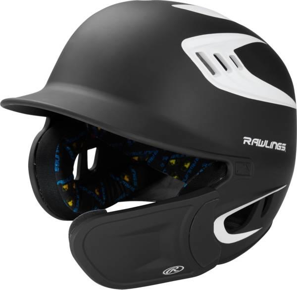 Rawlings Junior VELO Baseball Batting Helmet w/ EXT Jaw Guard product image
