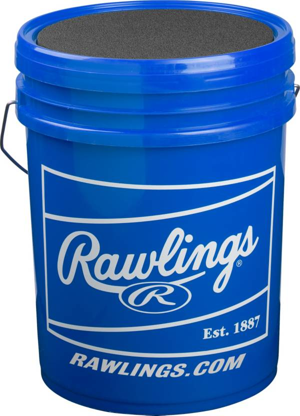 Rawlings 6-Gallon Youth Practice Baseball/Bucket Combo - 30 Pack product image