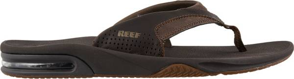 Reef Men's Leather Fanning Flip Flops product image