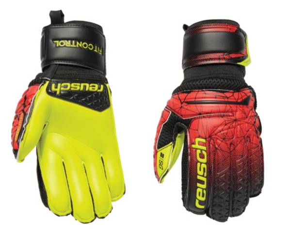 Reusch Youth Fit Control Fingersave Soccer Gloves product image