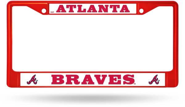 Rico Atlanta Braves Chrome License Plate Frame product image