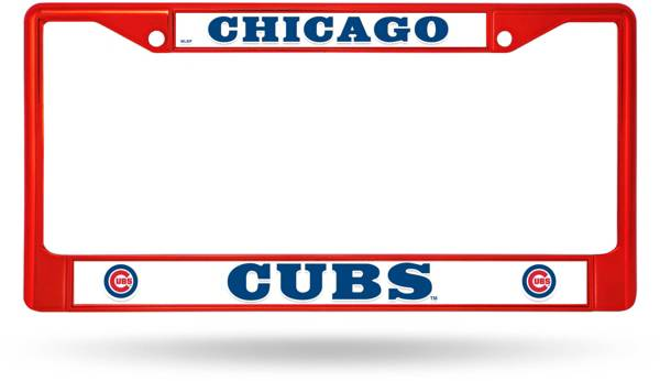 Rico Chicago Cubs Chrome License Plate Frame product image
