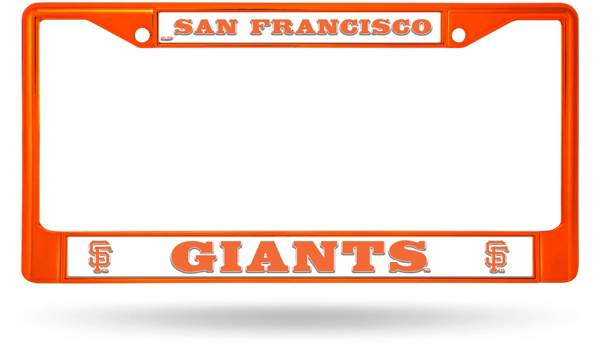 Rico San Francisco Giants Chrome License Plate Frame product image