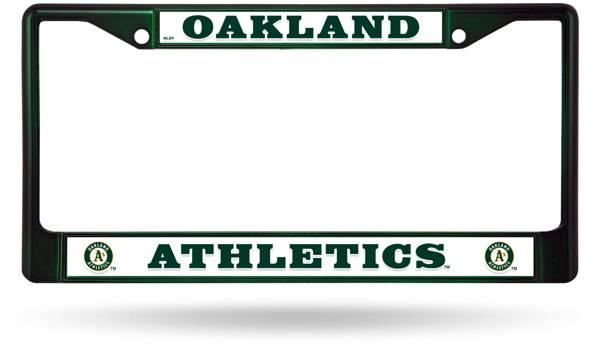 Rico Oakland Athletics Chrome License Plate Frame product image