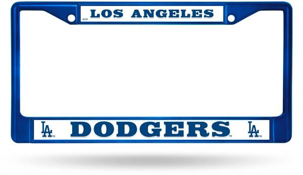 Rico Los Angeles Dodgers Chrome License Plate Frame product image
