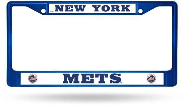 Rico New York Mets Chrome License Plate Frame product image