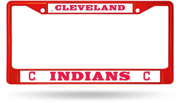 Rico Cleveland Indians Chrome License Plate Frame product image