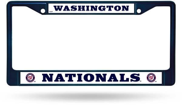 Rico Washington Nationals Chrome License Plate Frame product image