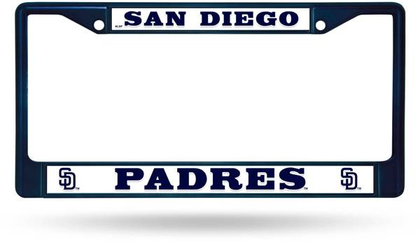 Rico San Diego Padres Chrome License Plate Frame product image