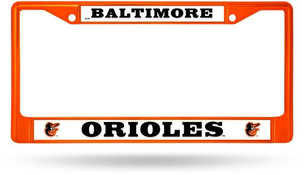 Rico Baltimore Orioles Chrome License Plate Frame product image