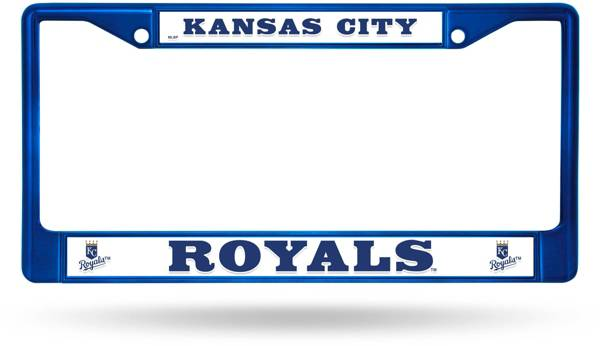 Rico Kansas City Royals Chrome License Plate Frame product image