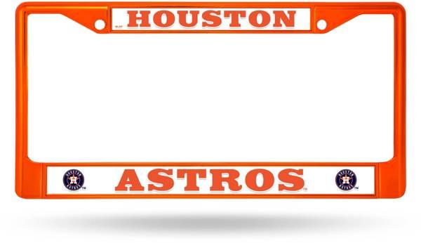Rico Houston Astros Chrome License Plate Frame product image