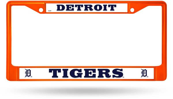 Rico Detroit Tigers Colored Chrome License Plate Frame product image