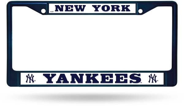 Rico New York Yankees Chrome License Plate Frame product image