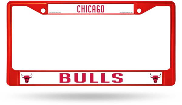 Rico Chicago Bulls Chrome License Plate Frame product image