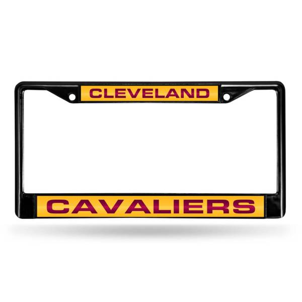 Rico Cleveland Cavaliers Black Laser Chrome License Plate Frame product image