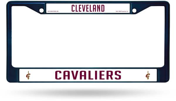 Rico Cleveland Cavaliers Colored Chrome License Plate Frame product image
