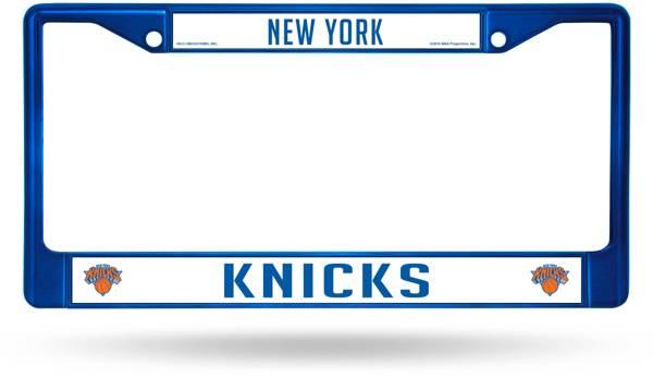 Rico New York Knicks Chrome License Plate Frame product image