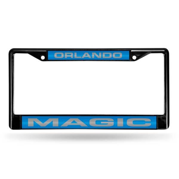 Rico Orlando Magic Black Laser Chrome License Plate Frame product image
