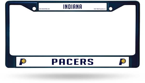 Rico Indiana Pacers Chrome License Plate Frame product image