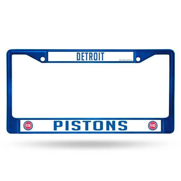Rico Detroit Pistons Chrome License Plate Frame product image