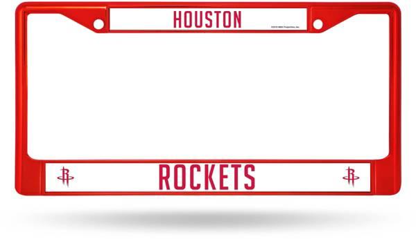 Rico Houston Rockets Chrome License Plate Frame product image