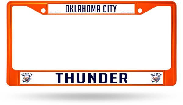Rico Oklahoma City Thunder Chrome License Plate Frame product image