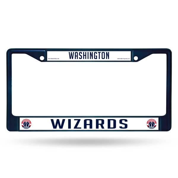 Rico Washington Wizards Chrome License Plate Frame product image